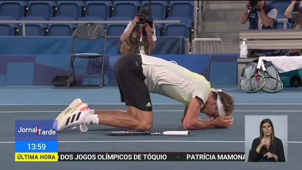 Alexander Zverev sagrou-se campeão olímpico de ténis aos 24 anos