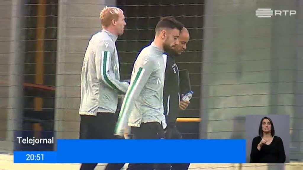 Sporting. Bruno Fernandes convocado para jogo de terça-feira em Braga