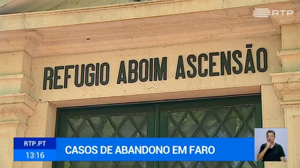 Villas Boas fala de quatro casos de abandono total, só em Faro, nos últimos anos - RTP