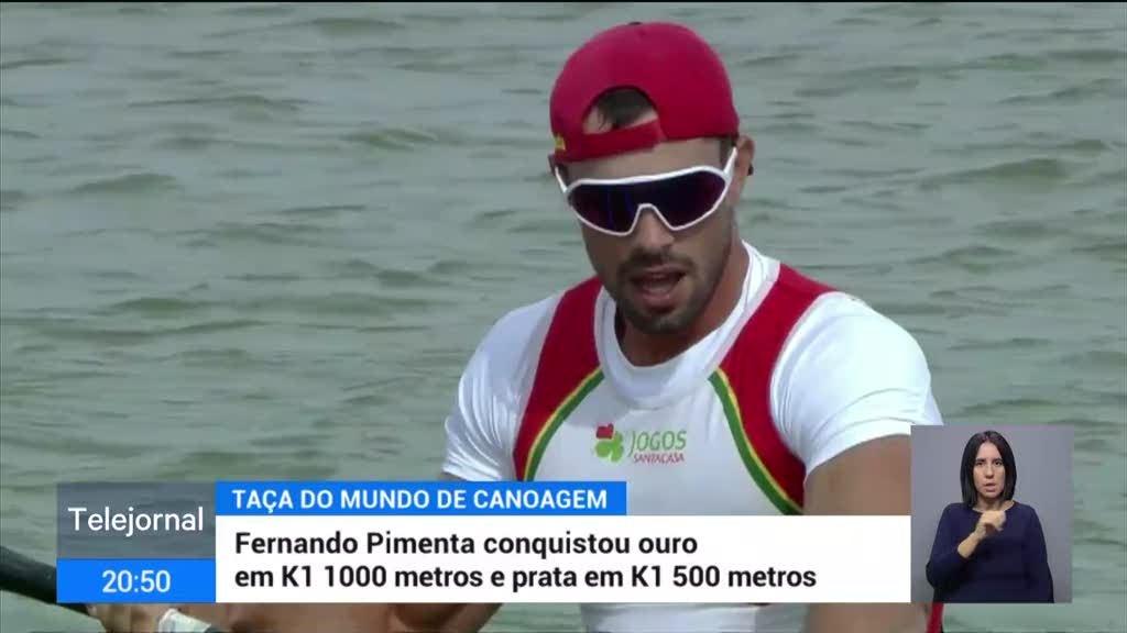 Portugal conquistou quatro medalhas na Taça do Mundo de velocidade de canoagem