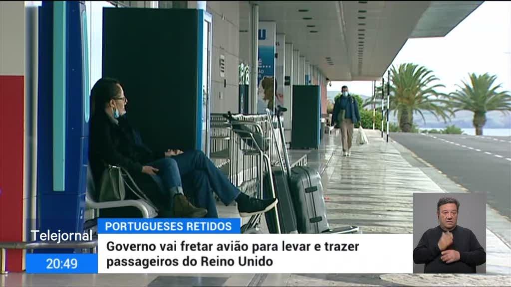 Portugueses à espera de voo especial para regressar ao Reino Unido