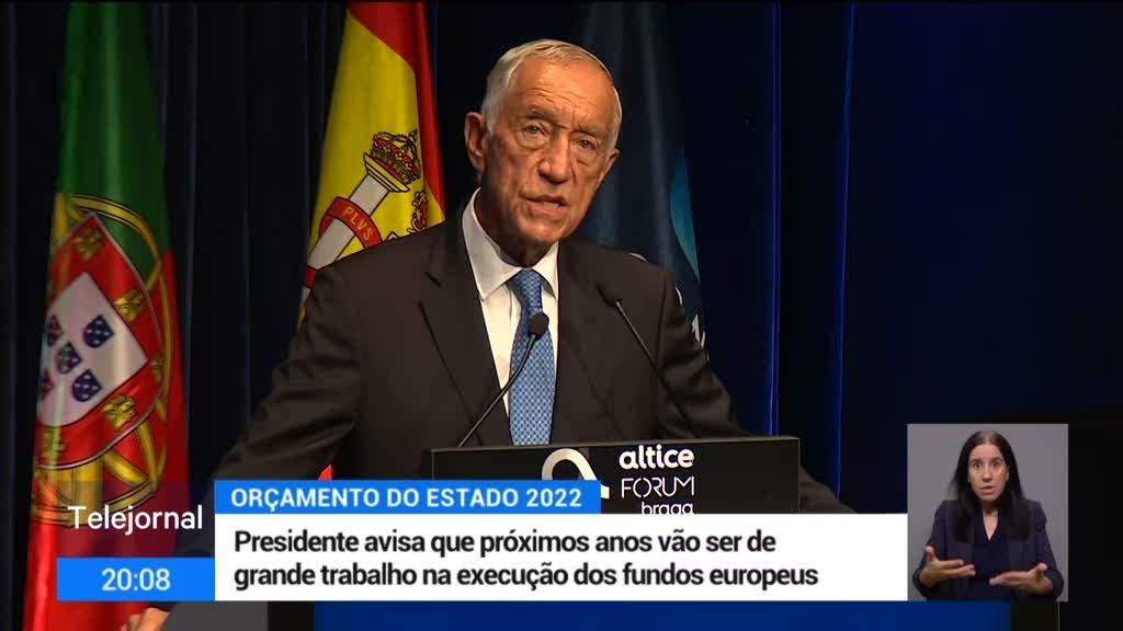Fundos europeus. Marcelo exige empenhamento coletivo