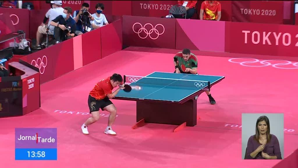 Tóquio2020. Já não há portugueses em prova no ténis de mesa individual