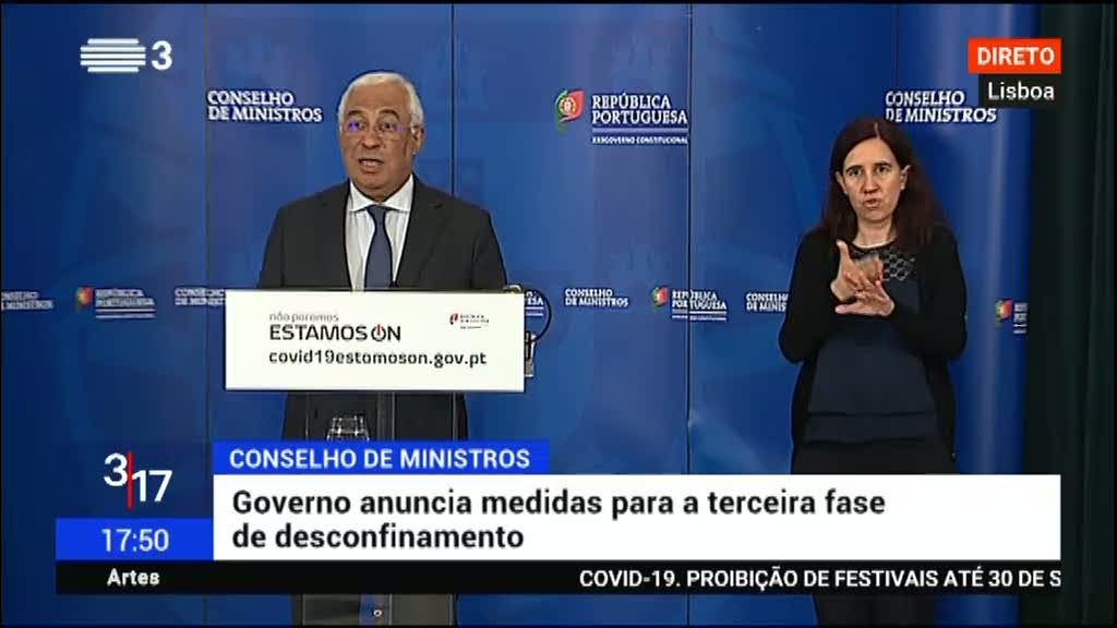 Governo faz avaliação positiva no país, mas assume preocupação com Lisboa