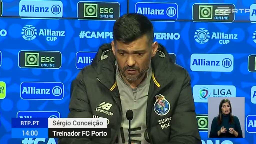 Taça da Liga. Danilo Pereira está em dúvida para o jogo de sábado com o Braga
