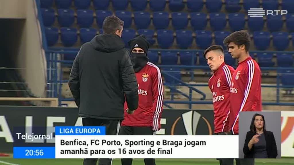 Liga Europa. Benfica joga com o Shakhtar na Ucrânia