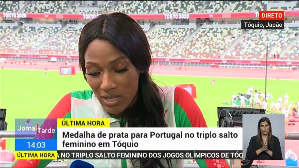"""Patrícia Mamona em entrevista à RTP: """"Estou nas nuvens"""""""