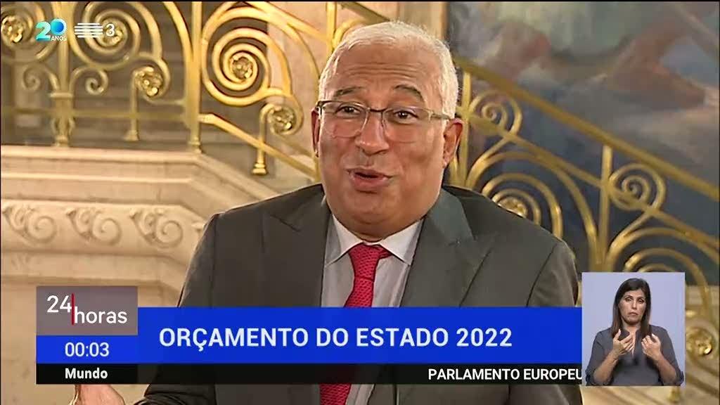 OE2022. António Costa deixa aviso aos partidos de esquerda