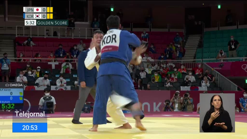 Japão conquistou a oitava medalha de ouro no judo