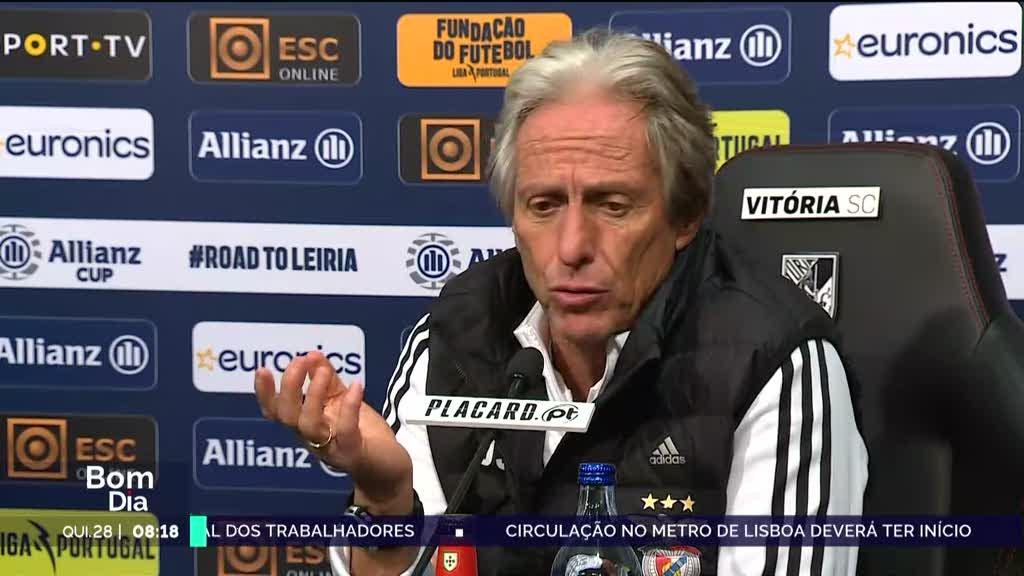 V. Guimarães-Benfica. Para os treinadores das duas equipas foi um grande jogo