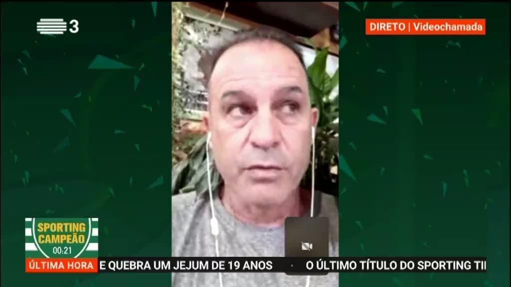 """André Cruz: """"Foi um trabalho muito bom de Rúben Amorim"""""""
