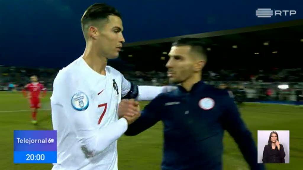 Portugal vence Luxemburgo com golos de Bruno Fernandes e Ronaldo