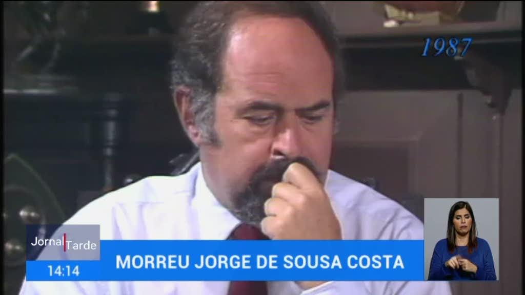 Morreu o ator Jorge de Sousa Costa