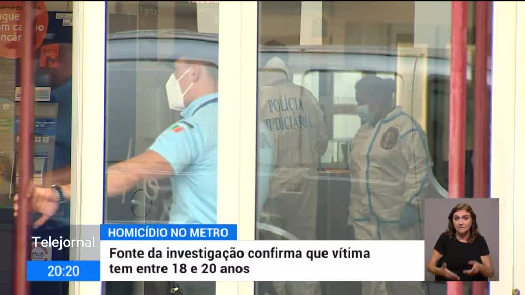 Jovem foi assassinado numa estação de metro de Lisboa