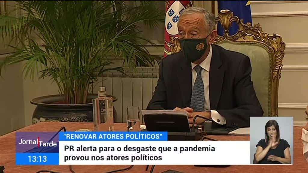 PR alerta para desgaste que a pandemia provou aos atores políticos