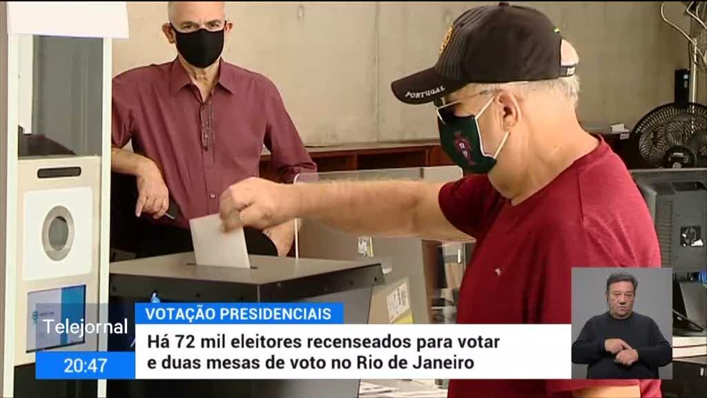 Votação sem problemas no Rio de Janeiro