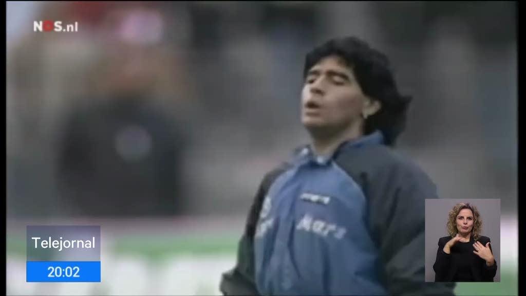 Mundo do futebol chora a morte de Diego Maradona