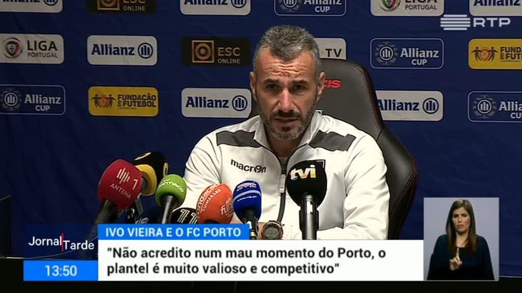 Taça da Liga. Ivo Vieira elogia equipa do FC Porto
