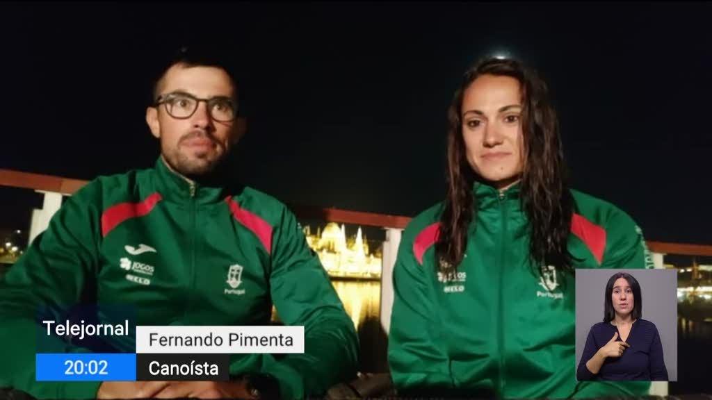 Fernando Pimenta e Joana Vasconcelos conquistam medalhas de ouro na Hungria