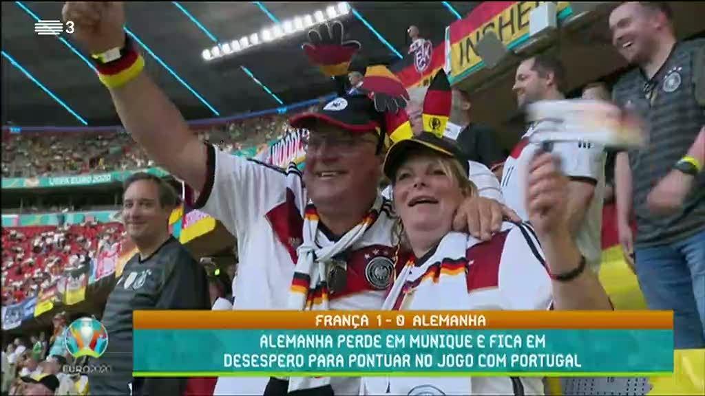 Alemanha perde em Munique e fica em desespero para pontuar no jogo com Portugal
