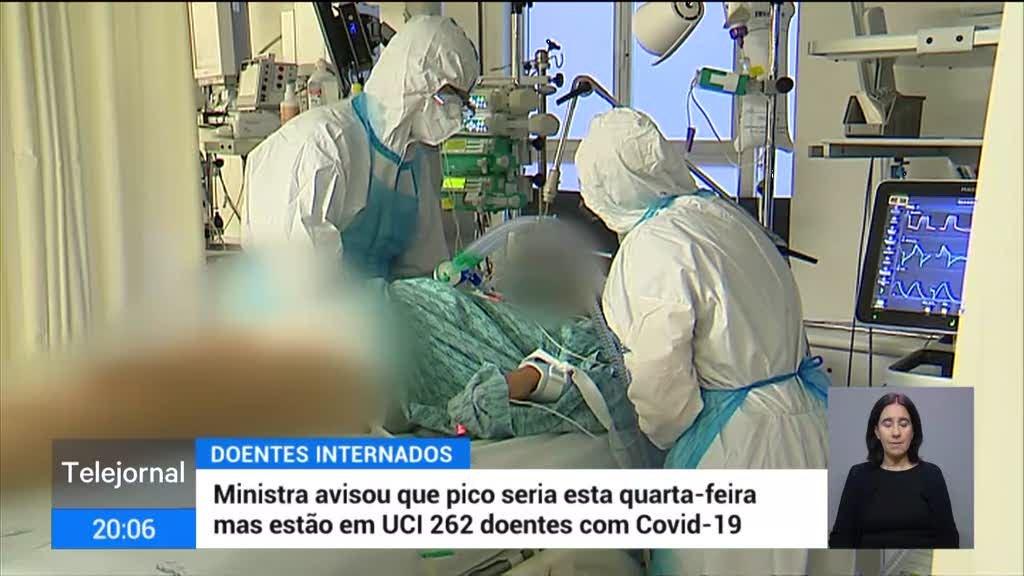 Covid-19 preenche cuidados intensivos do Norte e Lisboa e Vale do Tejo