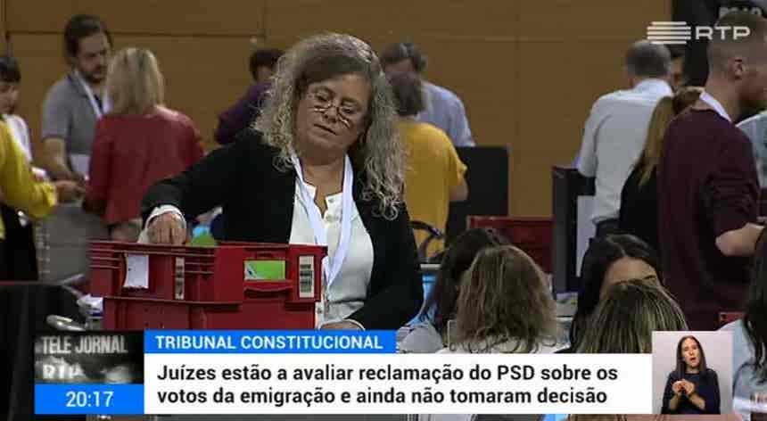 Eleições. Posse do Governo continua suspensa até ser julgada queixa do PSD