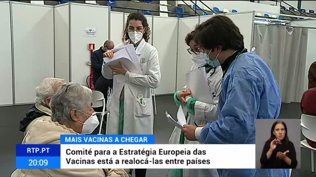 Portugal negociou a aquisição de milhões de vacinas adicionais