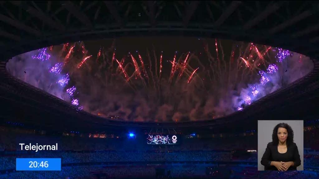 Realizou-se a cerimónia de abertura dos Jogos Olímpicos de Tóquio