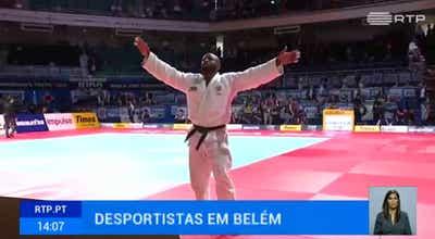 Judo. Jorge Fonseca esteve com Marcelo Rebelo de Sousa