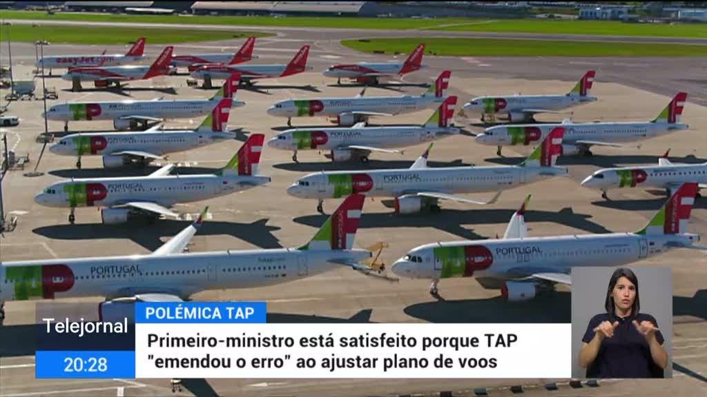 "TAP ""emenda erro"". Costa satisfeito, Rio reservado"
