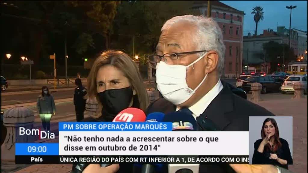 Operação Marquês. As reações políticas
