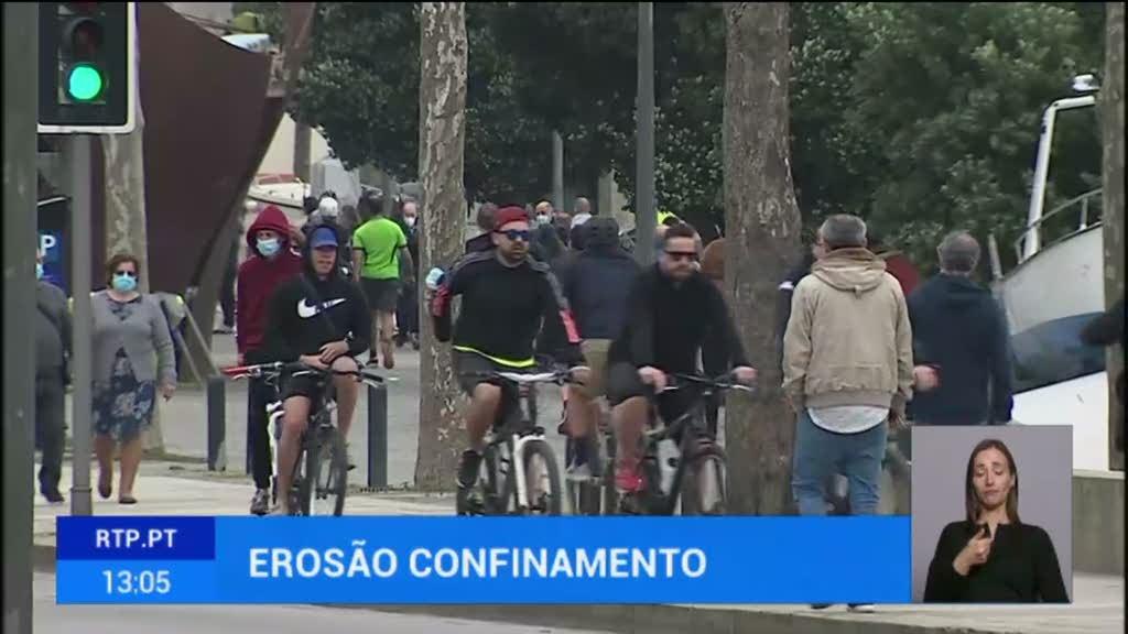 Portugueses estão a sair mais de casa