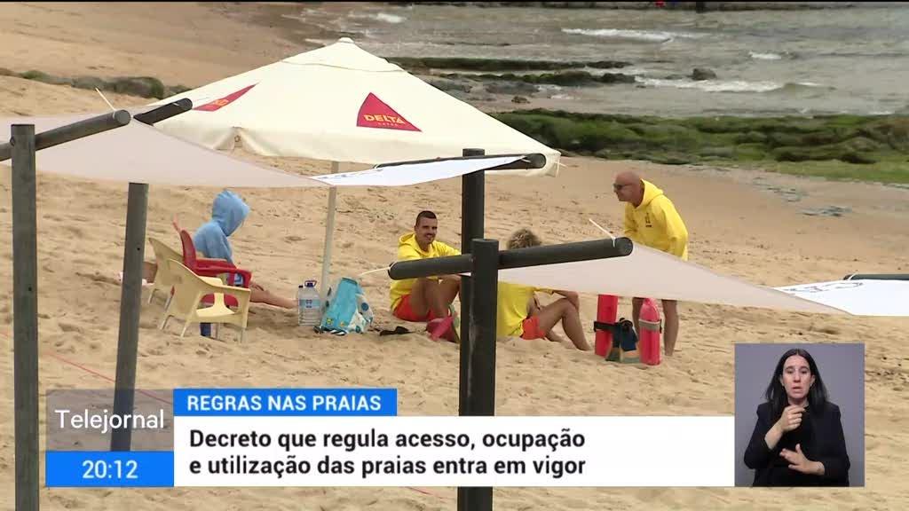 Praias. Desrespeito de normas pode levar a multas até 100 euros