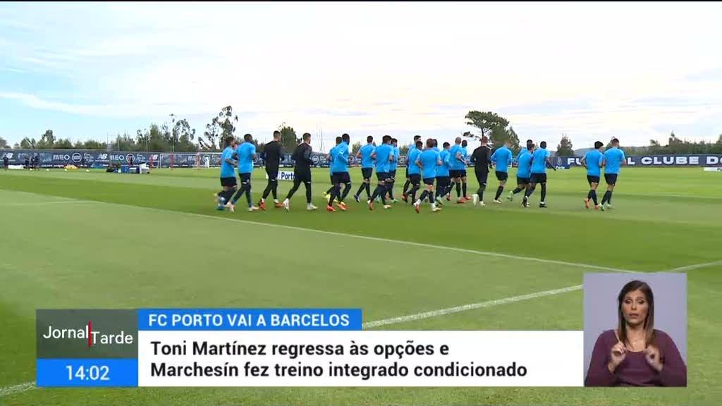 FC Porto joga em Barcelos, treinador não quer perder pontos
