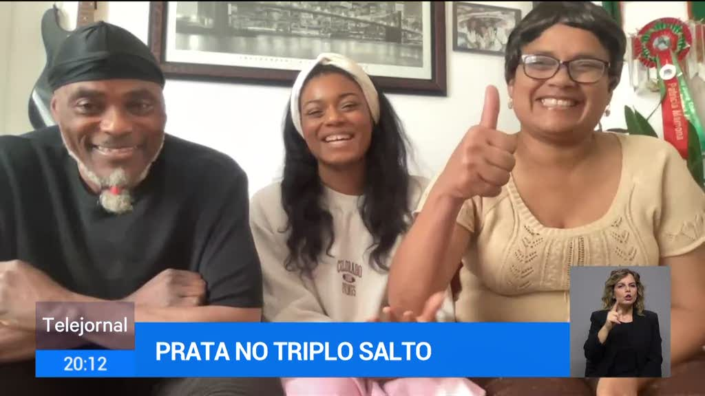 Patrícia Mamona fala com a família através do Telejornal da RTP