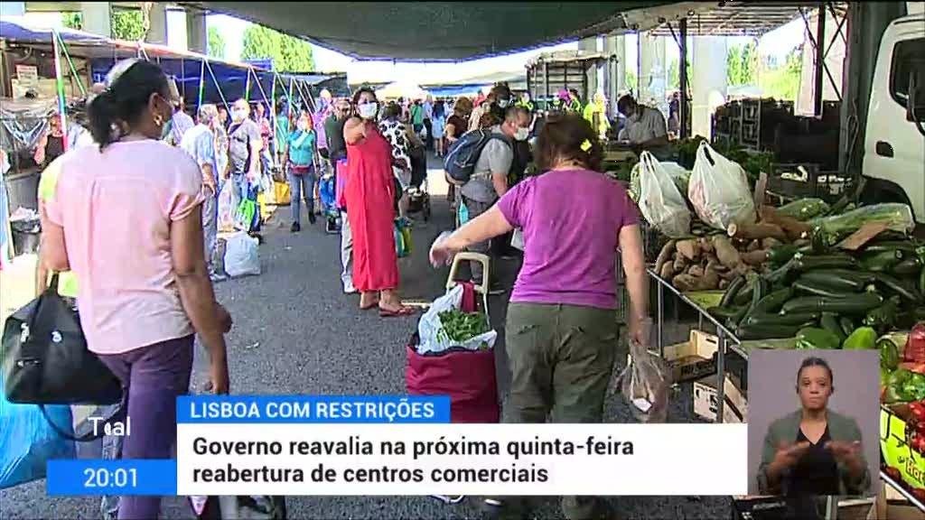 Governo decide um passo atrás no desconfinamento de Lisboa