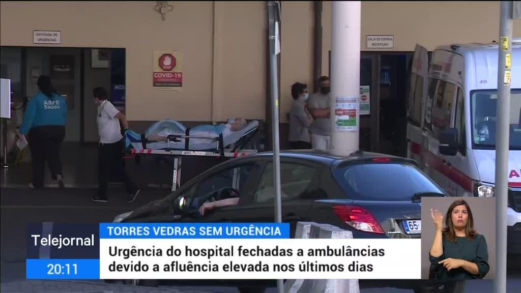 Urgência do hospital de Torres Vedras está fechada a ambulâncias
