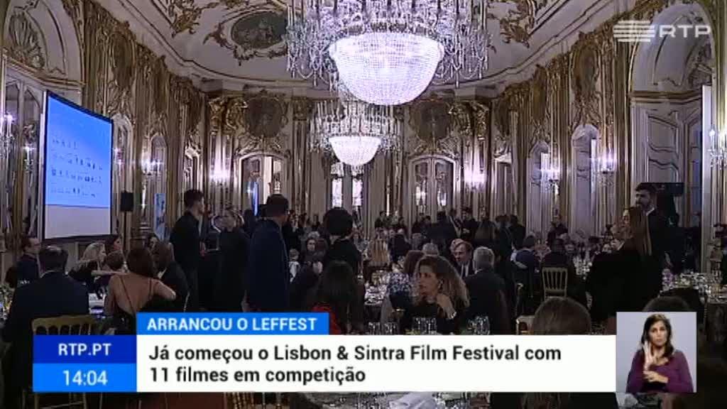 Já começou o Festival de Cinema de Lisboa e Sintra com 11 filmes em competição - RTP