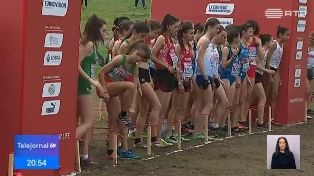 Portugal conquistou três medalhas de bronze no europeu de corta-mato