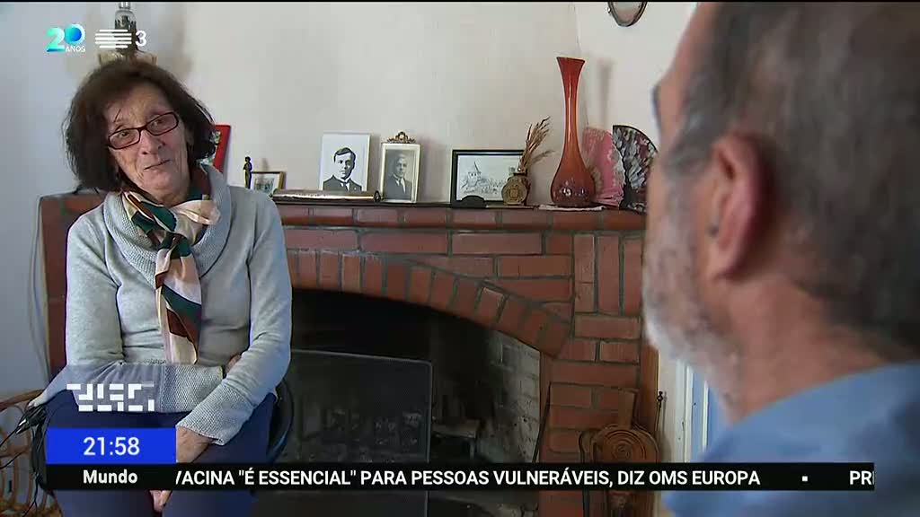 Marie-Rose de Sousa Mendes. Filha de Aristides recorda memórias que guarda do pai