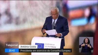 António Costa abriu conferência europeia citando Camões