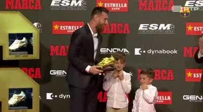 Messi conquista sexta Bota de Ouro