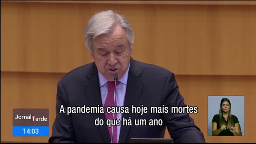 Guterres em Bruxelas