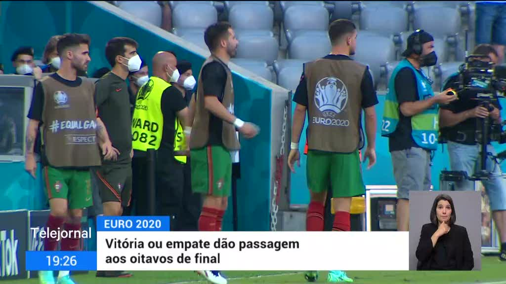 Portugal prepara embate com a França