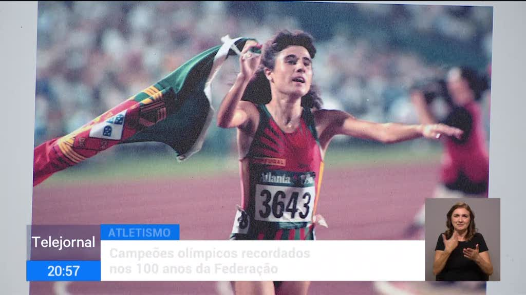 Atletismo. Campeões olímpicos recordados nos 100 anos da Federação