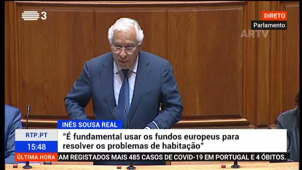 António Costa garante que habitação é a questão de fundo em Odemira