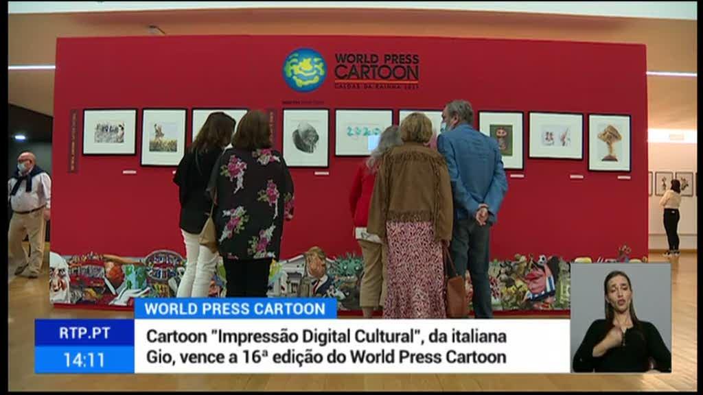 Os premiados do World Press Cartoon