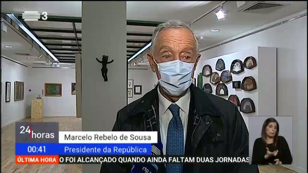 Marcelo Rebelo de Sousa congratula o Sporting pelo título de campeão