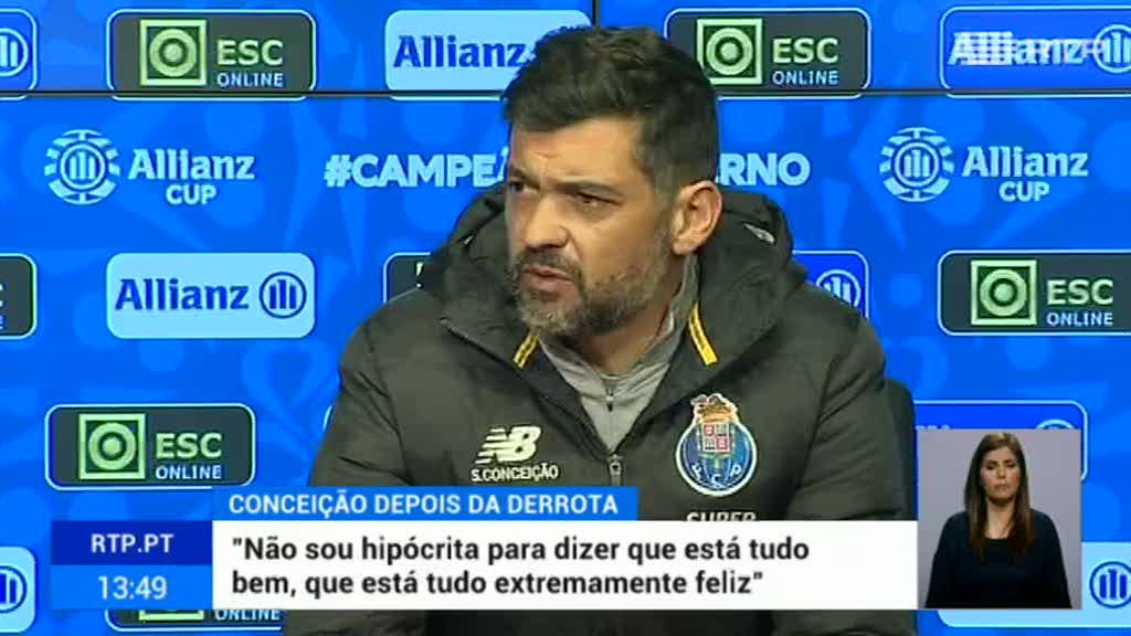 Taça da Liga. Sérgio Conceição quer derrotar o Vitória de Guimarães