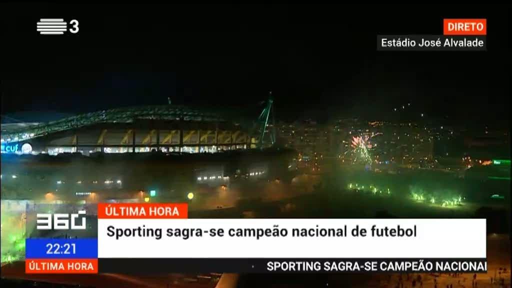 Sporting é campeão nacional 19 anos depois